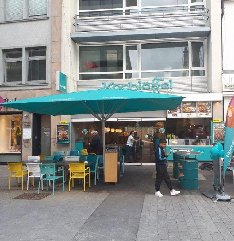 (Lokal Osnabrück???) Gutscheine von Kochlöffel an der Eingangstür (Doppelcheeseburger + Pommes 2€ etc.)