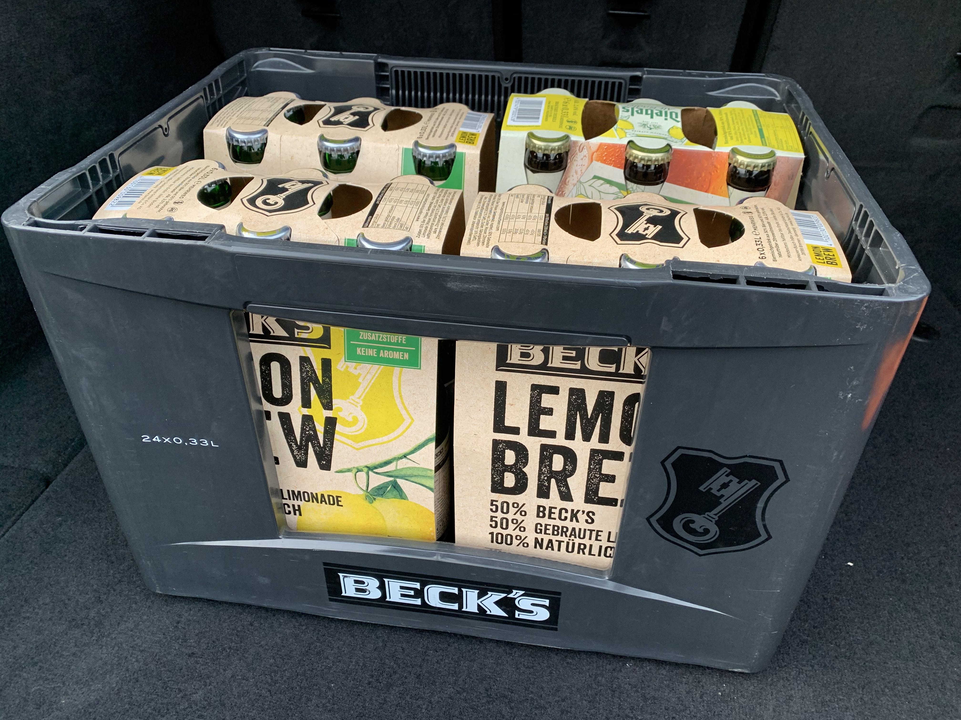 [Lokal: Essen] Trink & Spare: Freibier Becks Lemon und Diebels Radler