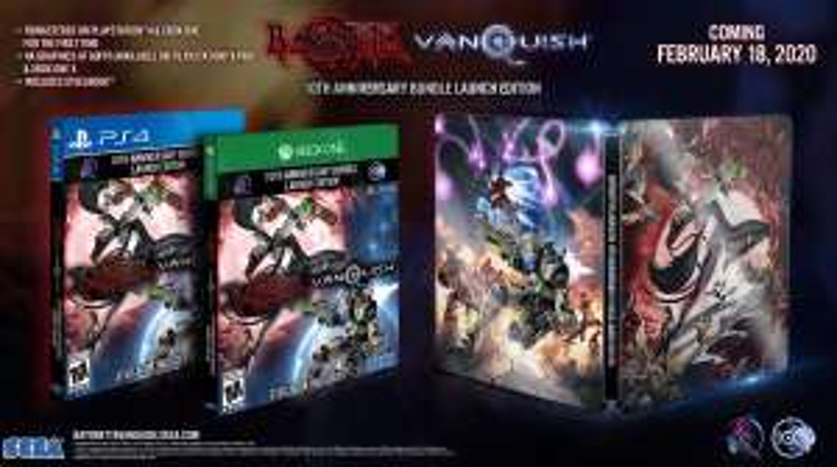 Bayonetta & Vanquish 10th Anniversary Bundle (Xbox ONE und PS4)