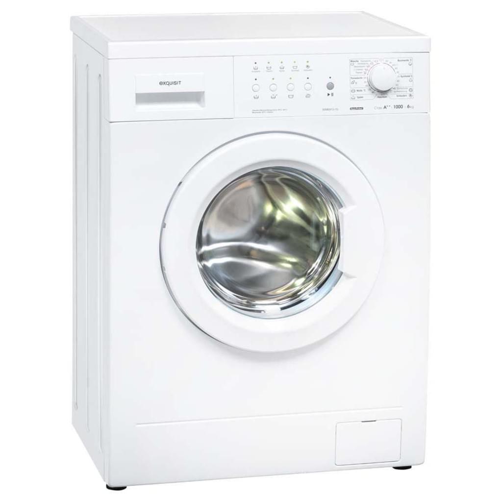 Exquisit Waschmaschine 6910-10 A++, 6kg, 1000 U/min