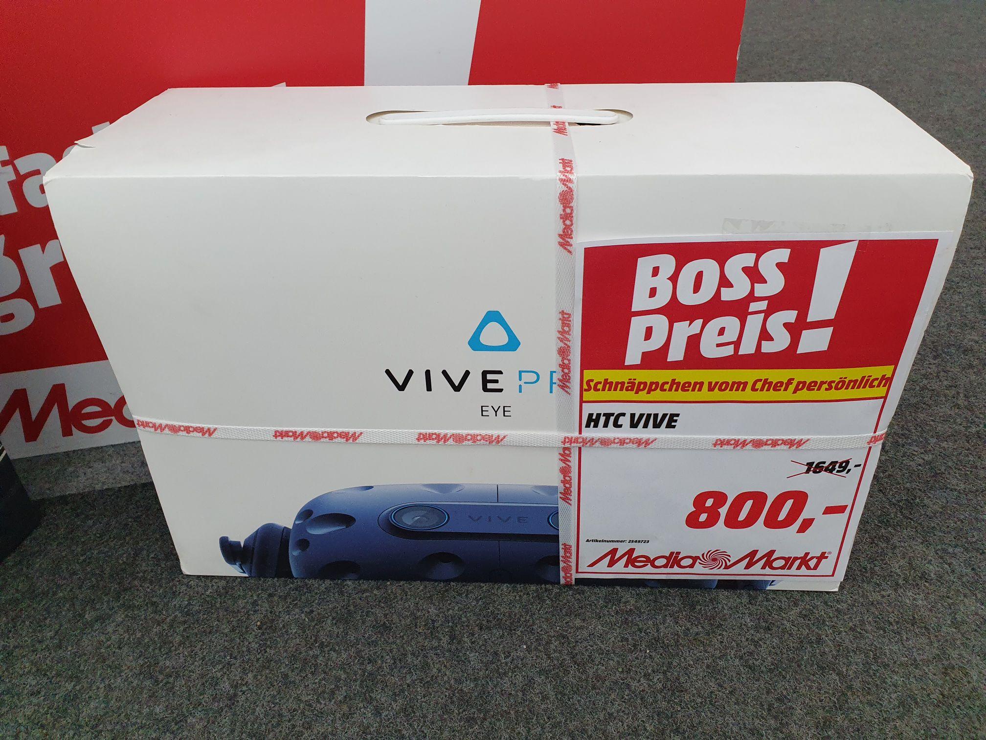 (Lokal Media Markt Schloss Steglitz) HTC Vive Pro Eye Full Kit