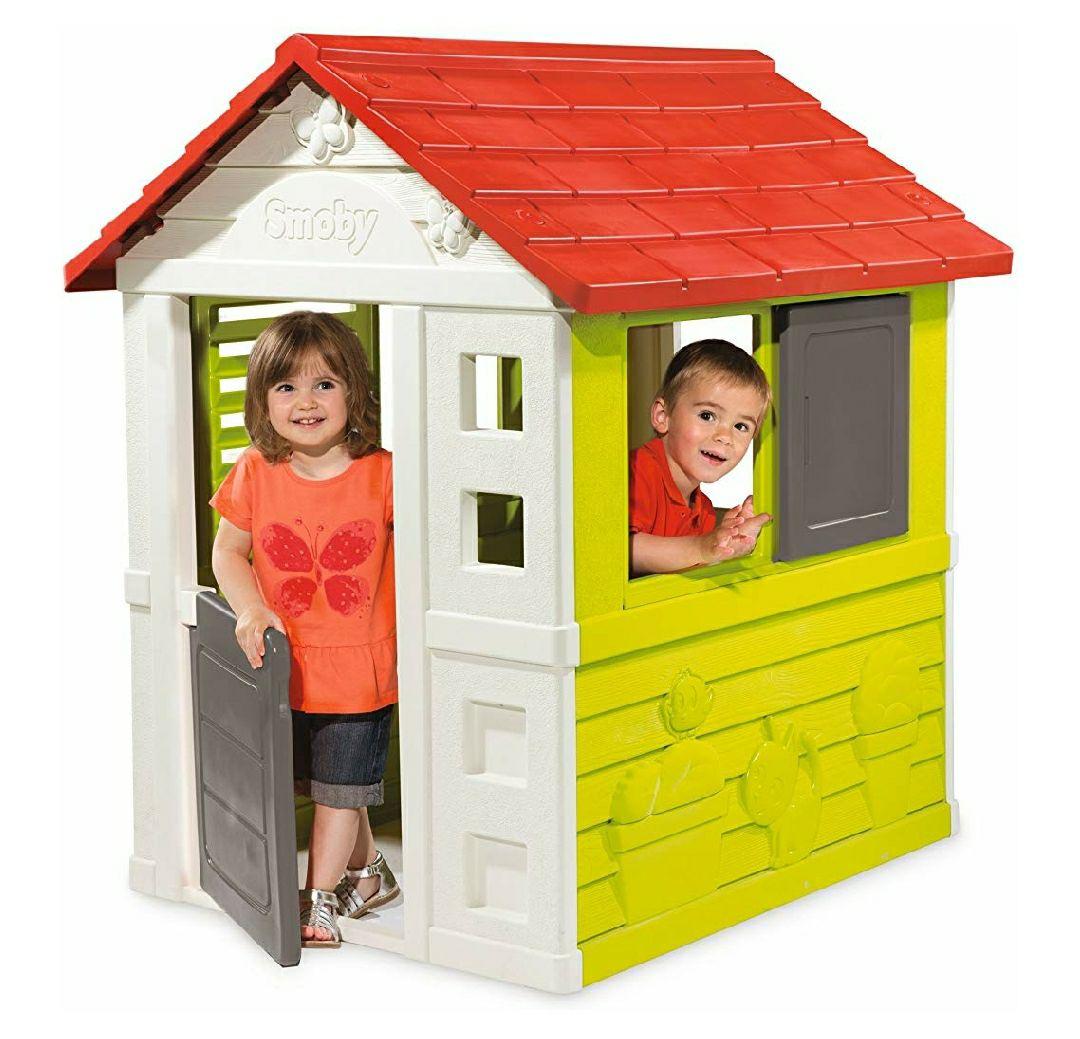 Spielhaus Smoby Natur Haus