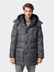 Tom Tailor 70% Winter Sale Parka in grau