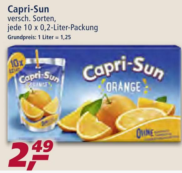 REAL - Capri-Sun Multipack + Coupon