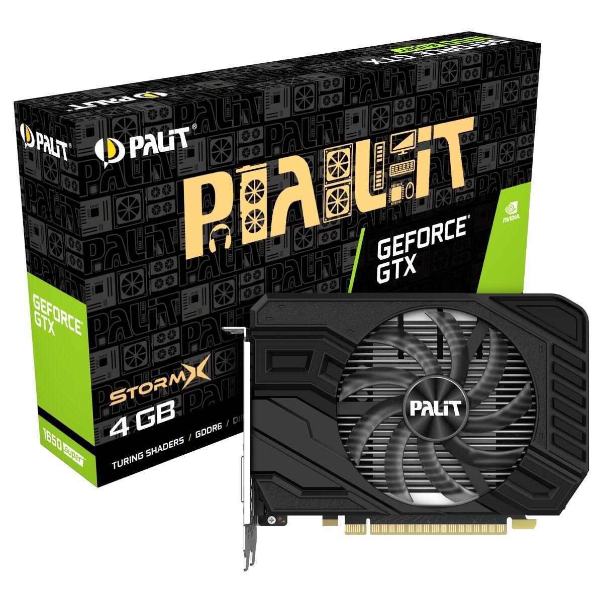 [notebooksbilliger / Mastercard] Palit GeForce GTX 1650 Super (neue Serie) [100W] - 4GB GDDR6 Grafikkarte - DisplayPort/HDMI/DVI