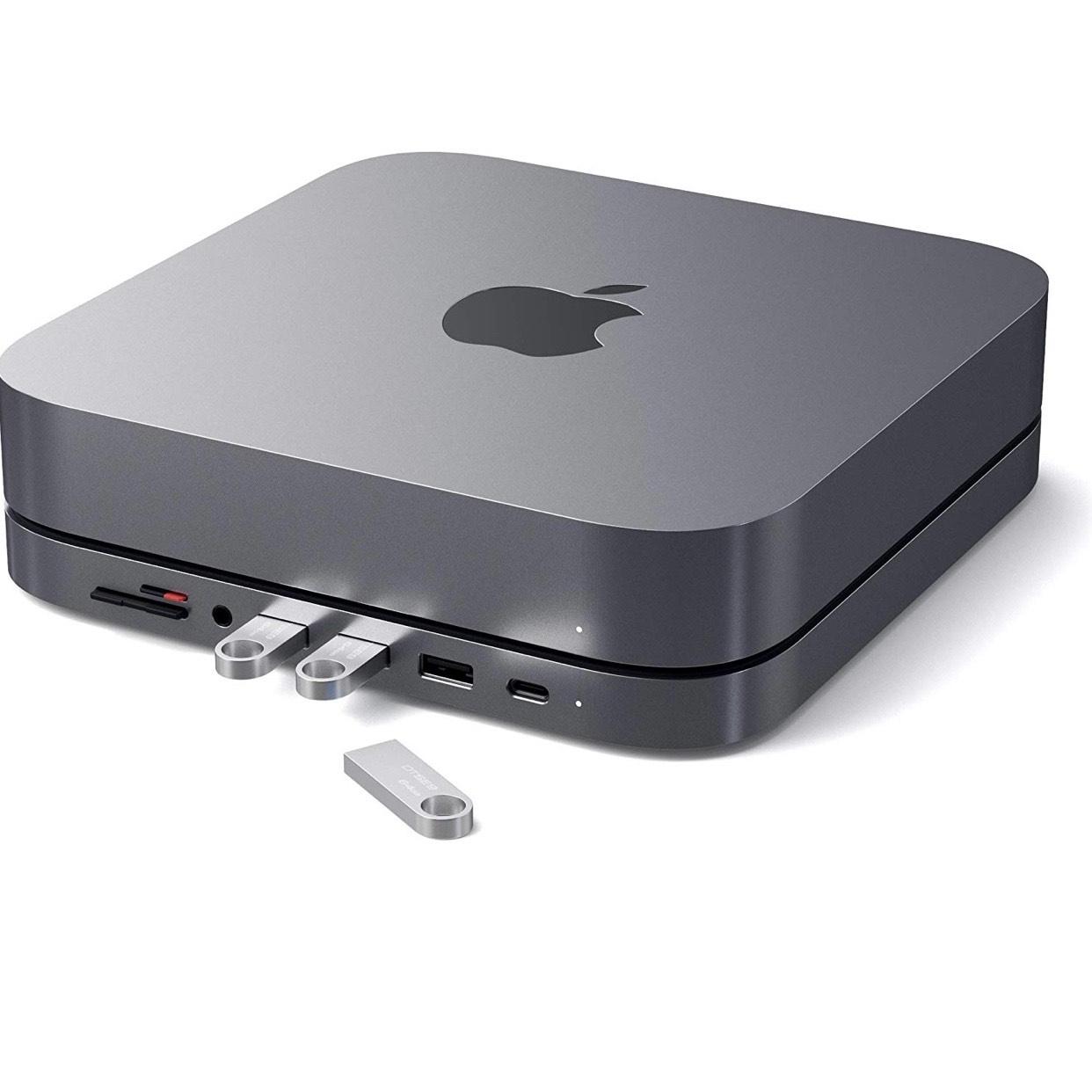 SATECHI USB-C Hub für Mac Mini 2018 oder neuer