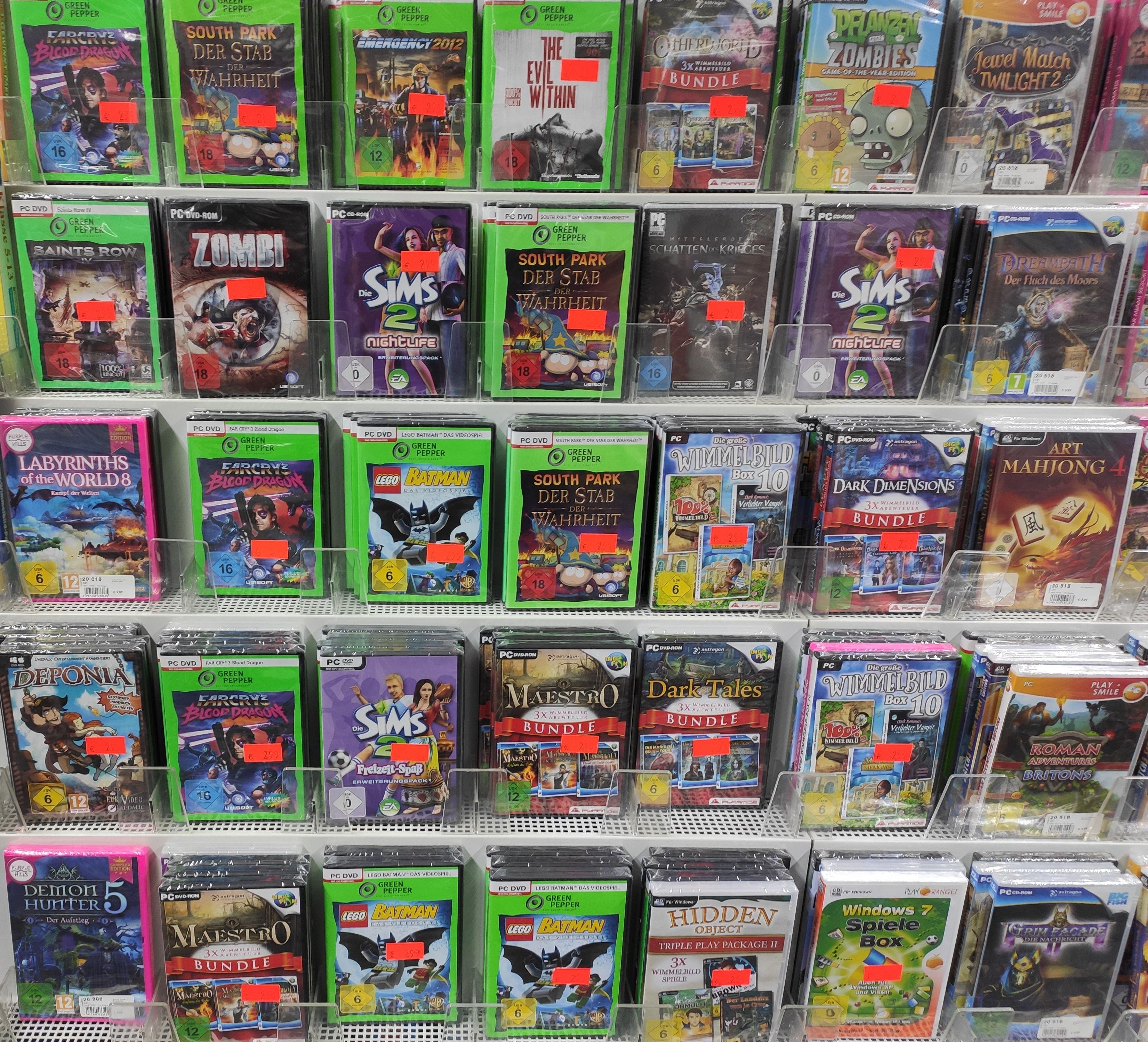 Diverse PC-Spiele für 2,99€: z.B. South Park: Der Stab der Wahrheit oder The Evil Within [Medimax Berlin Schönhauser Allee Arcaden]