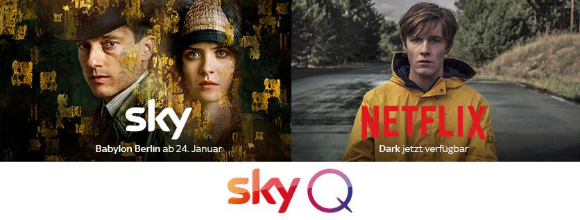 Sky Entertainment Plus (inkl. HD-Option und Netflix HD) ab 18,99€ mtl. + 90€ Cashback!