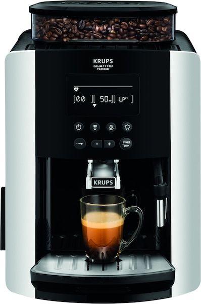 Krups EA8178 Arabica Display Quattro Force Kaffeevollautomat (1450 Watt, Wassertankkapazität: 1,8l, Pumpendruck: 15 Bar) [Galaxus]