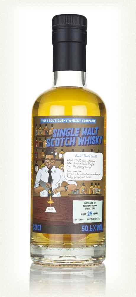 Auchentoshan 24, Kurayoshi 18, Glenlivet 19 Campdalemore, AnCnoc 24 Whisky und Samaroli Rum Abfüllungen