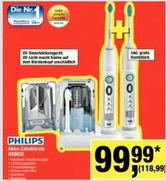 [Metro] Philips HX 6932/34 Sonicare FlexCare Schall-Zahnbürste + 2. Handstück  118,99