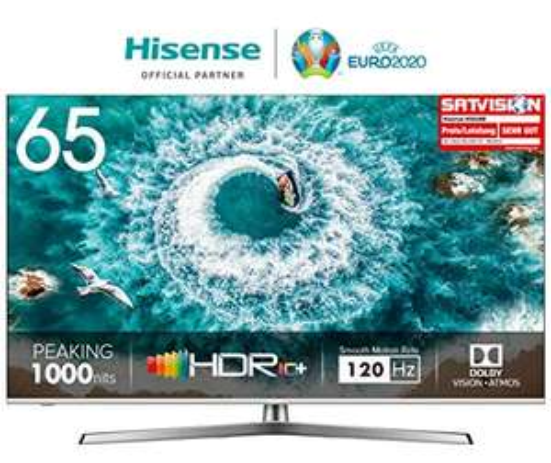 "Sammeldeal Hisense ULED 4K Smart TV z.B.: H65U8B 65"" für 899,99€ oder 55"" für 599,99€ | H65U7B 55"" für 489,99€ oder 65"" für 799,99€ [Amazon]"
