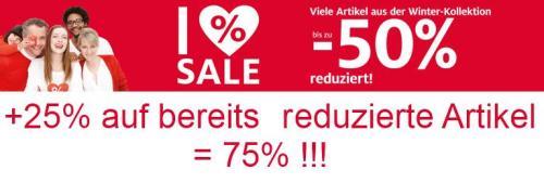 [OFFLINE] C&A Münster nochmal extra 25% auf alle bereits reduzierten Artikel!