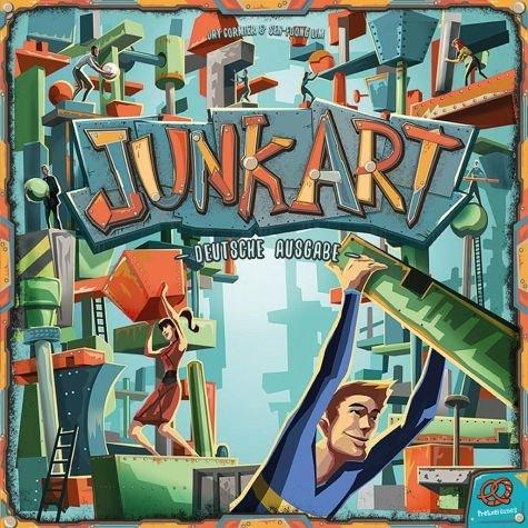 Junk Art   Plastik Version   Brettspiel, Geschicklichkeitsspiel