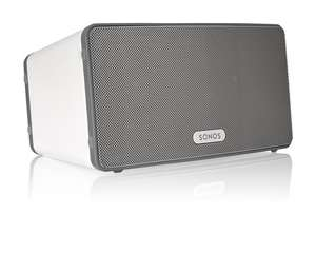 [EXPERT] SONOS PLAY:3 weiß Streaming-Lautsprecher (App-Steuerung, WLAN, Multiroom)