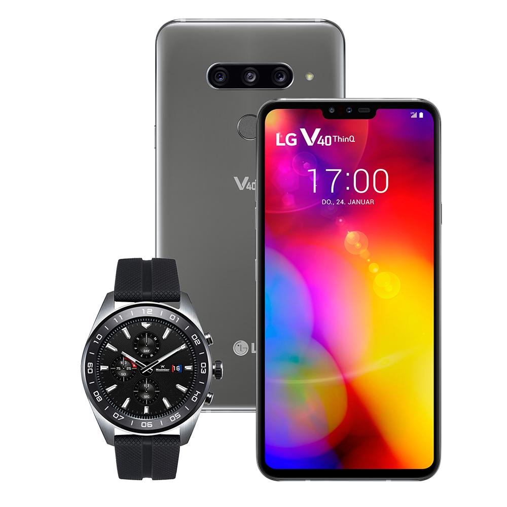 Vodafone Young M GigaKombi (11GB LTE) für 18,99€ / Monat mit LG V40 ThinQ + LG Watch W7 für 4,95€ Zuzahlung
