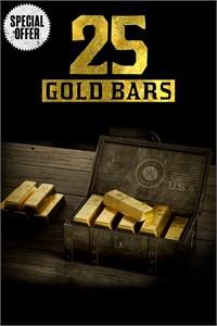 [XBOX] Red Dead Redemption 2 - 25 Gold-Barren - [1x pro Kunde]