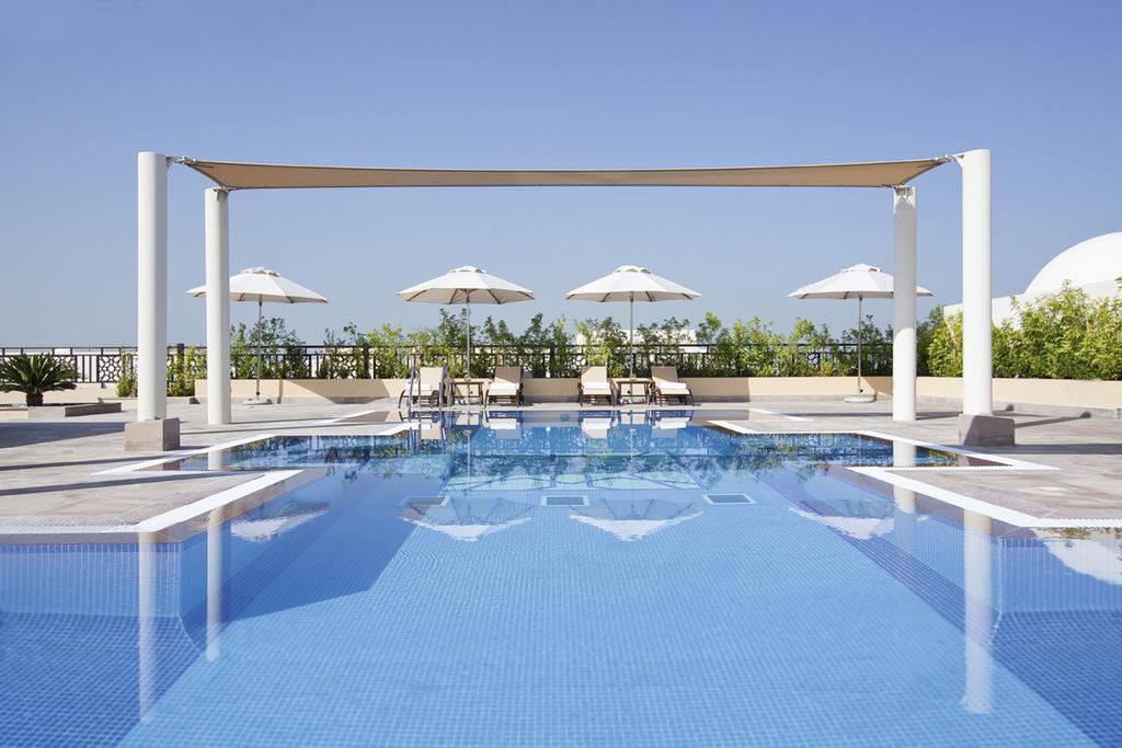 5* Hotel Dubai: Mövenpick Hotel Apartments Al Mamzar Dubai ab 18€ p.P./Nacht