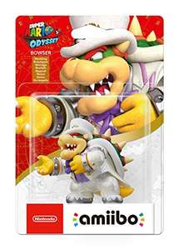 Nintendo Amiibo Odyssey Serie Bowser und Peach (Amazon Prime, lieferbar ab dem 25.01.2020 für 19,99 €, 18,45€)