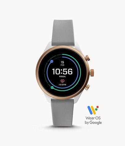 Fossil Smartwatch Sport Silikon verschiedene Farben 41mm und 43mm