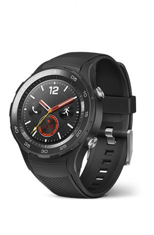 """Smartwatch Huawei Watch 2 4G (autark nutzbar, LTE, NFC, GPay, 1,2"""" AMOLED, 768MB RAM, 4GB Speicher, IP68)"""