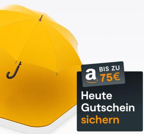 Huk24 Risikolebensversicherung mit 75 € Amazongutschein