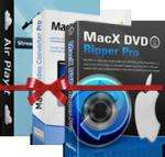 MacX iPad iPhone DVD Video Converter Pack für Mac OS & Win kostenlos (Giveaaway)