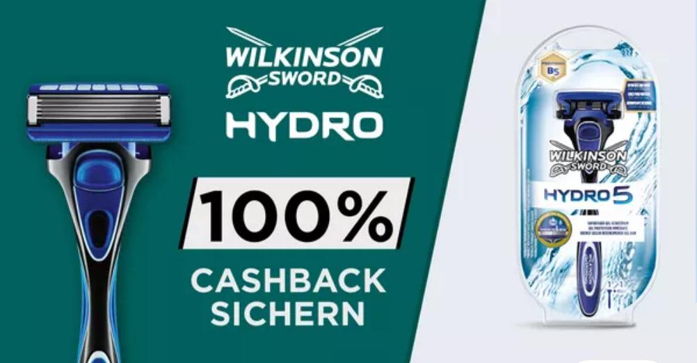 """[Marktguru] 100% Cashback auf Wilkinson Sword """"Hydro 5"""" Rasierer (FREEBIE)"""