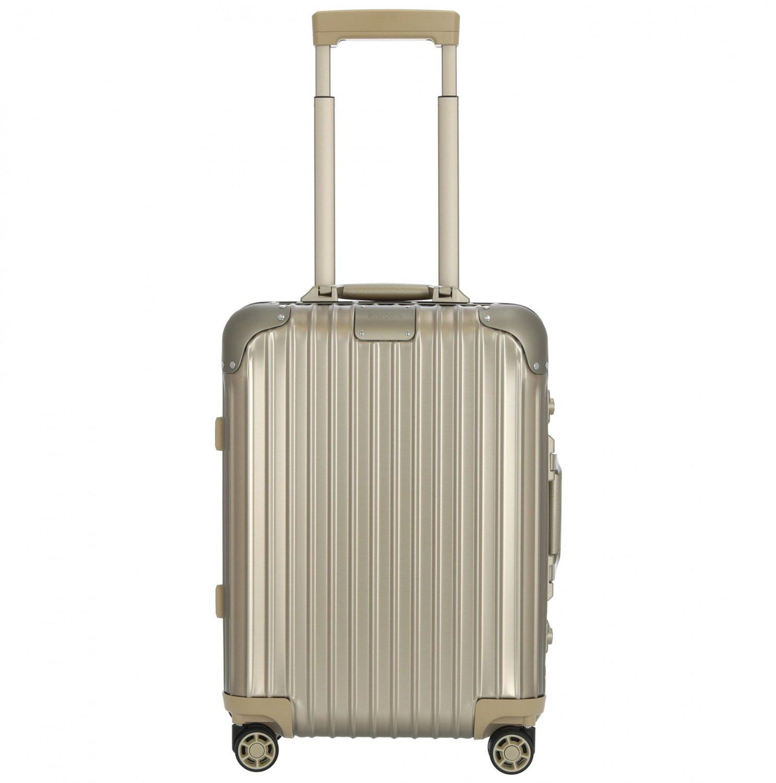 Rimowa Koffer mit 25% Rabatt (20% durch Code + 5% Vorkassenrabatt)