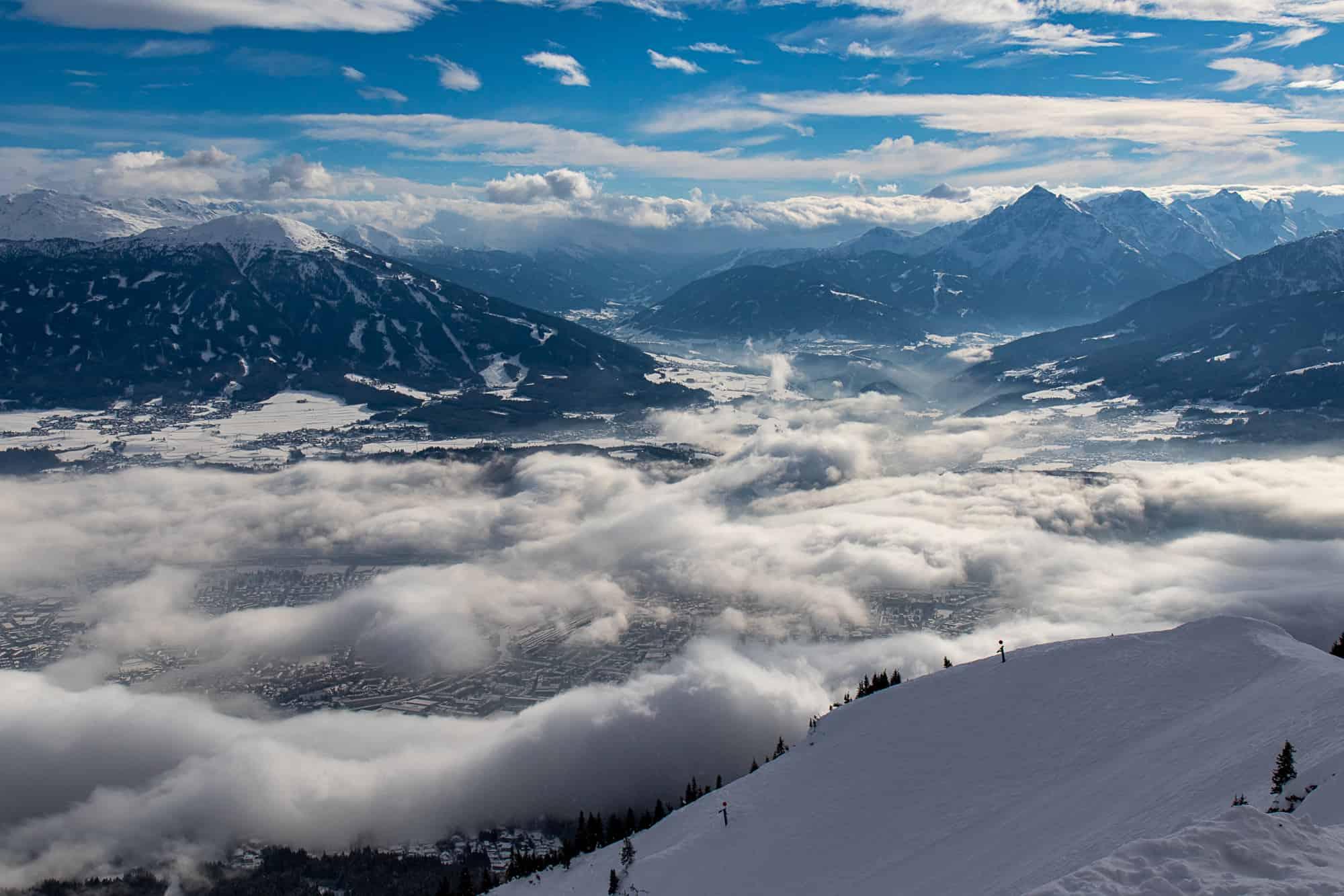 Flüge: zum Ski fahren oder Wandern nach Innsbruck/Salzburg von Berlin mit easyjet (JAN-JUN)