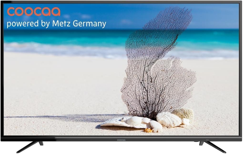 [real.de] Coocaa 50U2A13G - 50 Zoll 4K Smart-TV