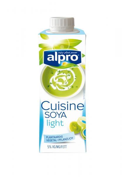 *LEIDER AUSVERKAUFT* 15x Alpro Soja Cuisine Light
