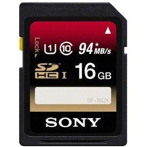 [Lokal Saturn Citypark Graz] 2x Sony SF16UX Class10 16GB SDHC (Lesegeschwindigkeit bis zu 94 Mbit/s) für nur 19,99 Euro!