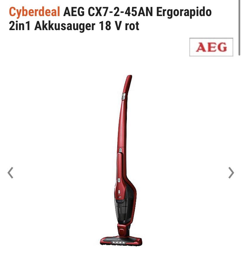 AEG CX7-2-45AN Akkusauger