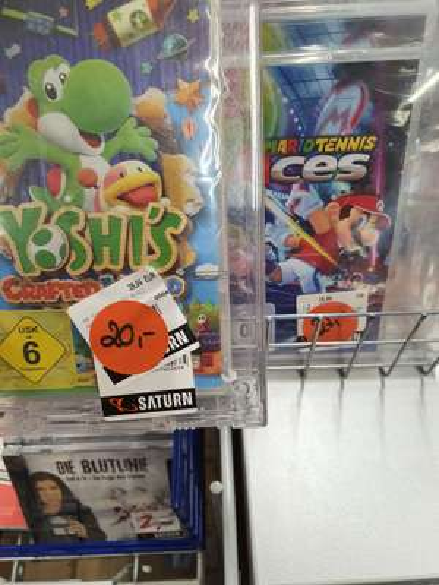 [Lokal] Yoshi crafted world 20€, Mario Tennis aces 27€ Nintendo Switch - Saturn Reutlingen