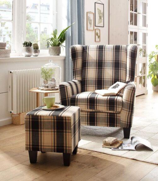 20% Extra-Rabatt auf die Marke Home affaire | zB Sessel mit Hocker für 223,99€ inkl VSK
