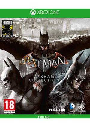 Batman: Arkham Collection Steelbook Edition (Xbox One) für 24,68€ (Base.com)
