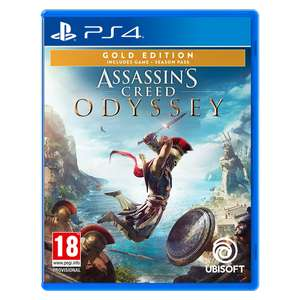 Assassin's Creed: OdysseyGold Edition 37,98€ (PS4) & Assassin's Creed Origins Gold Edition 27,98€ (Xbox) [Shop4de]