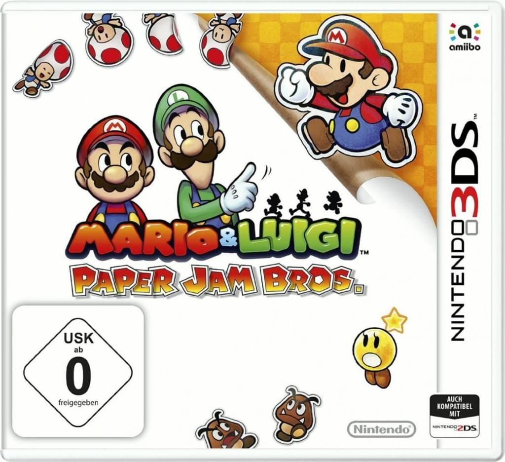 Mario & Luigi: Paper Jam Bros. (3DS) [Real Dodax]