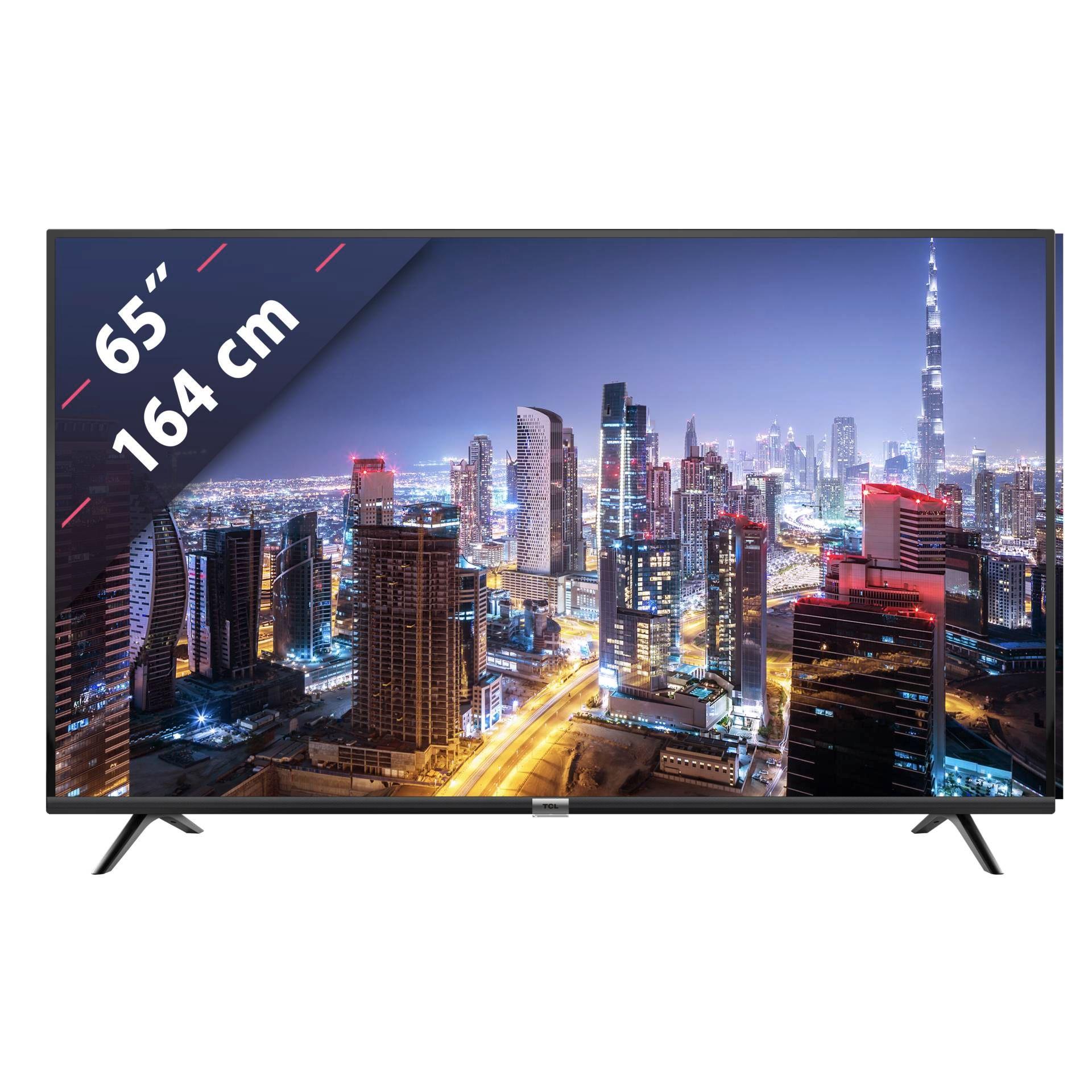 TCL 65DP600, 165.1 CM (65 ZOLL), UHD 4K, SMART TV, LED TV, 1200 PPI [Rakuten Technikdirekt]