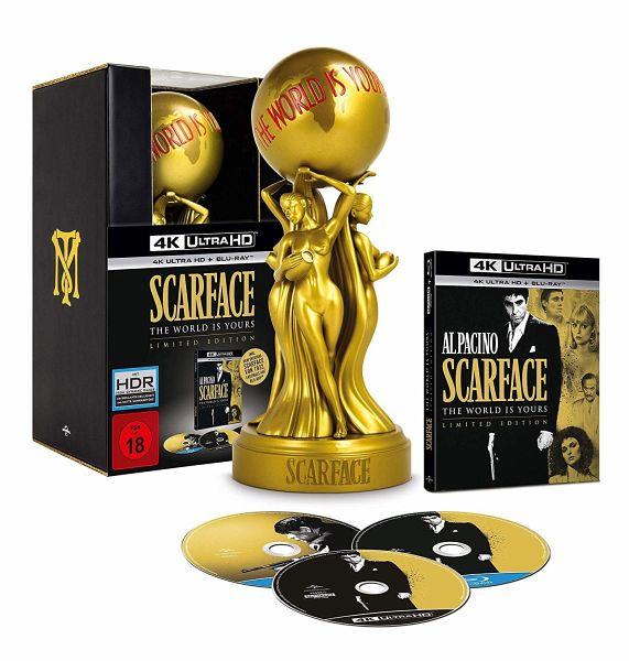 Scarface - The world is yours / 4K Ultra HD Blu-ray + Blu-ray / Limited Sammler-Box