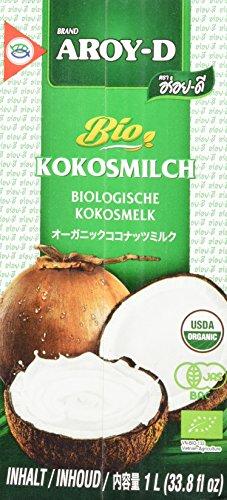 AROY-D Bio Kokosmilch 2x1000ml [Amazon Prime]