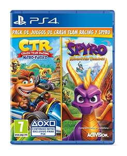 Crash Team Racing: Nitro Fueled + Spyro: Reignited Trilogy (PS4) für 41,73€ (Amazon IT)