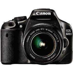 [Amazon WHD] Canon EOS 600D SLR-Digitalkamera Kit inkl. EF-S 18-55mm