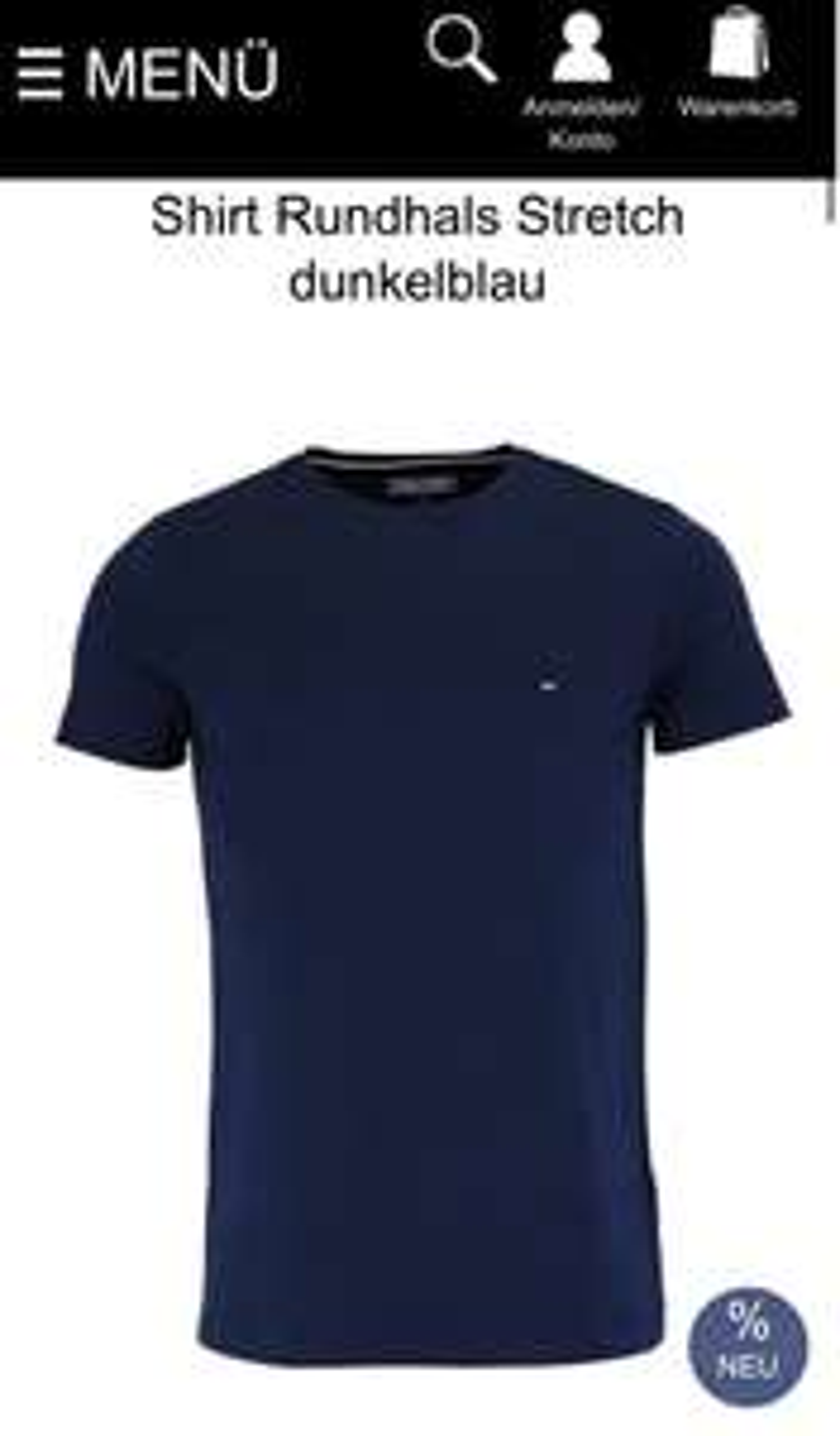 Tommy Hilfiger T-Shirt Slim Fit