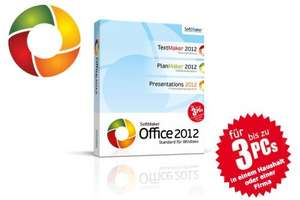 Softmaker Office Standard 2012, 3 User (deutsch) (PC)