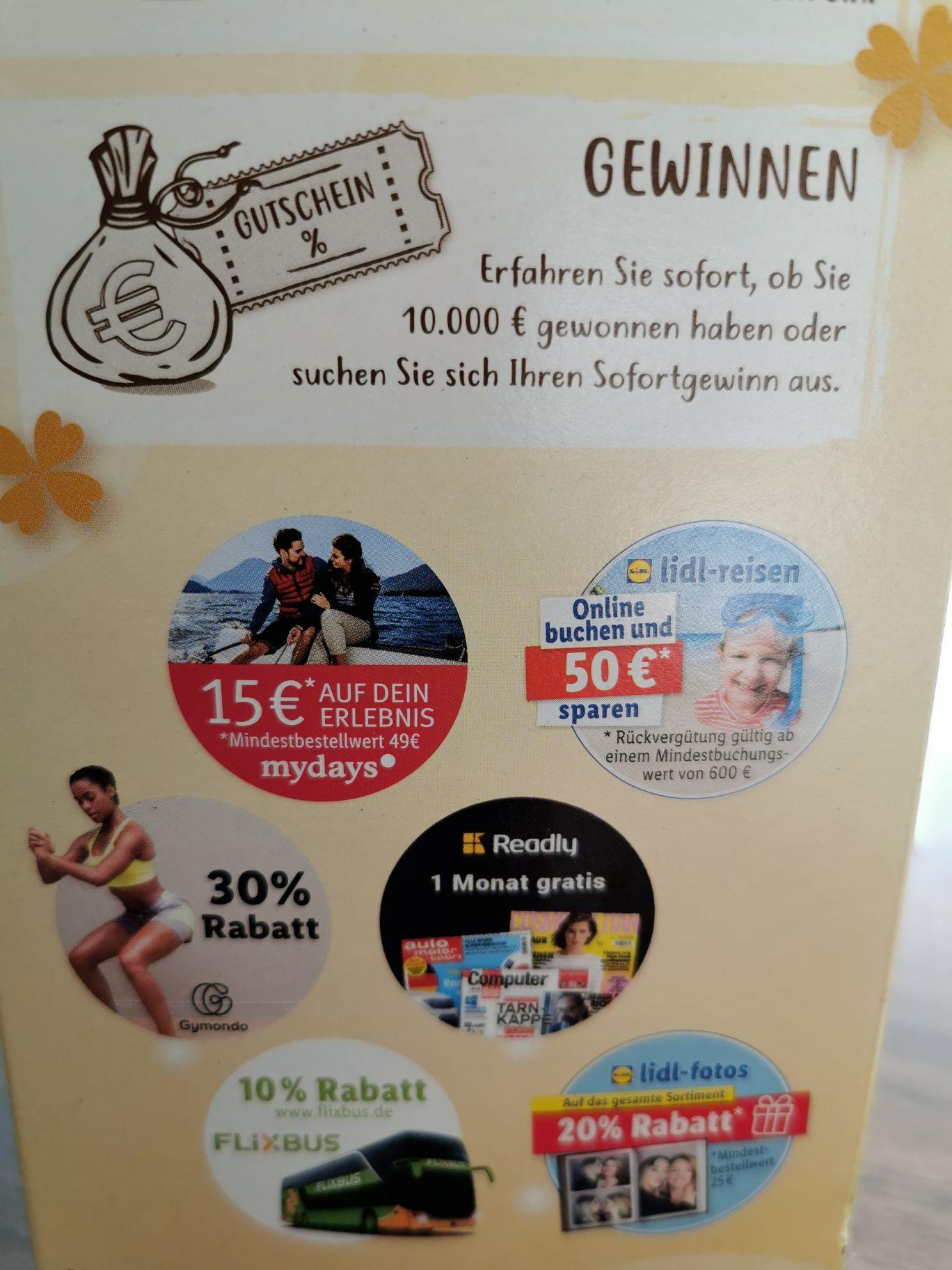 15€ MyDays Gutschein für 1,99€, 49€ MBW