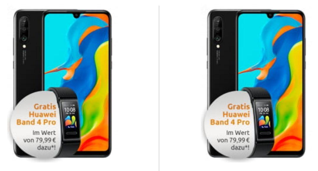 [Young MagentaEINS] 2x Huawei P30 Lite Neu und 2x Band 4 Pro im Telekom Magenta Mobil S (12GB LTE) mtl. 29,95€ einm. 4,99€ [+100€ Cashback]