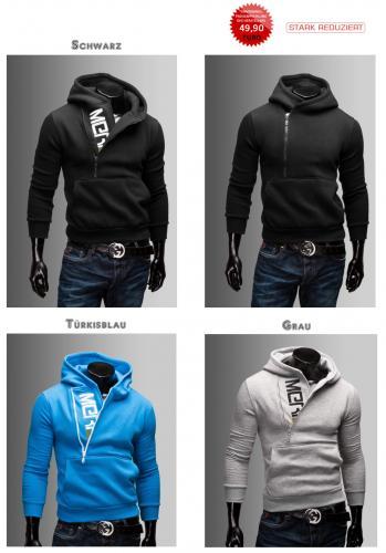 Merish Kapuzenpullover Hoodie Pullover Jacke T-Shirt Neu Herren Sweatshirt