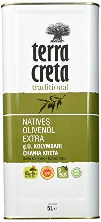 [Amazon Prime] Terra Creta Extra Natives Olivenöl, 5 l Kanister
